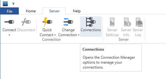 File Processor server connections