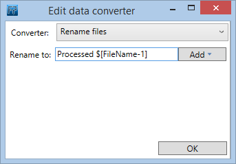 input conversion rename files
