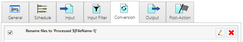 input conversion result